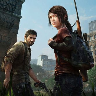 A screenshot from The Last of Us