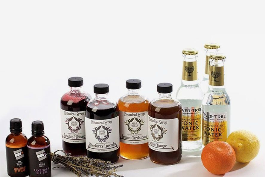 Wild Roots Apothecary Craft Cocktail Kit