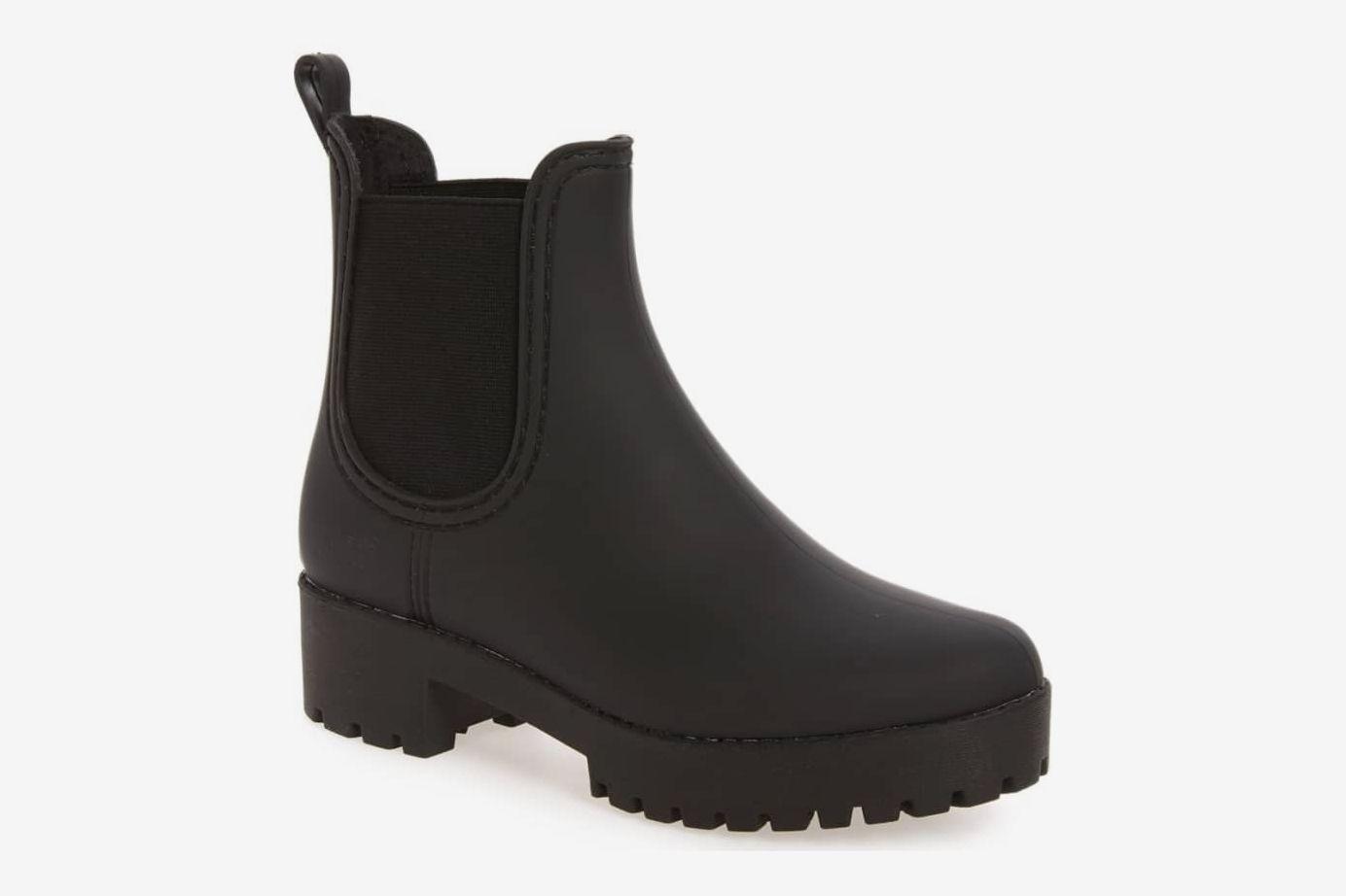 eb04972ae Jeffrey Campbell Cloudy Waterproof Chelsea Rain Boot