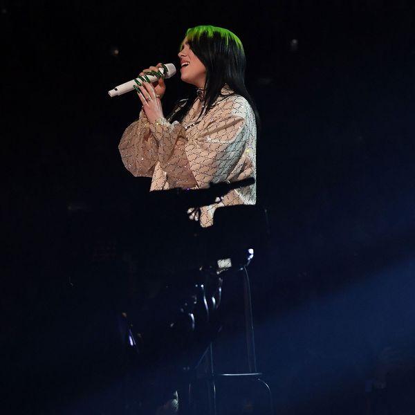 Billie Eilish Glitters During Sparse Grammys Performance