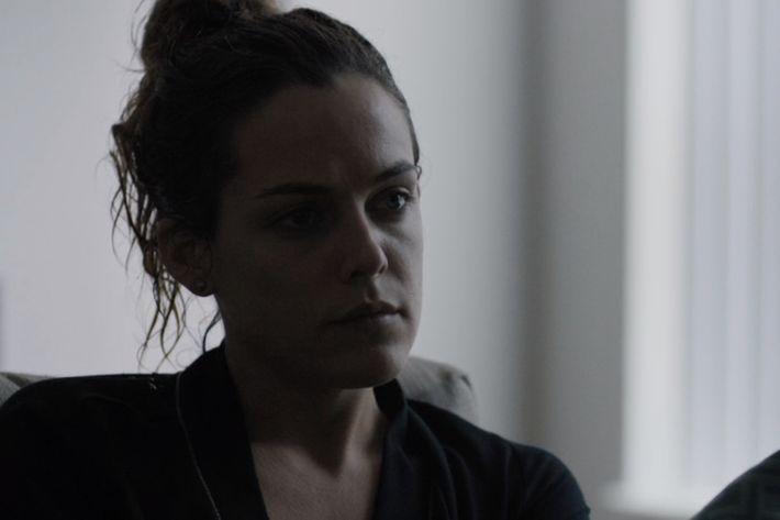 Riley Keough as Christine.