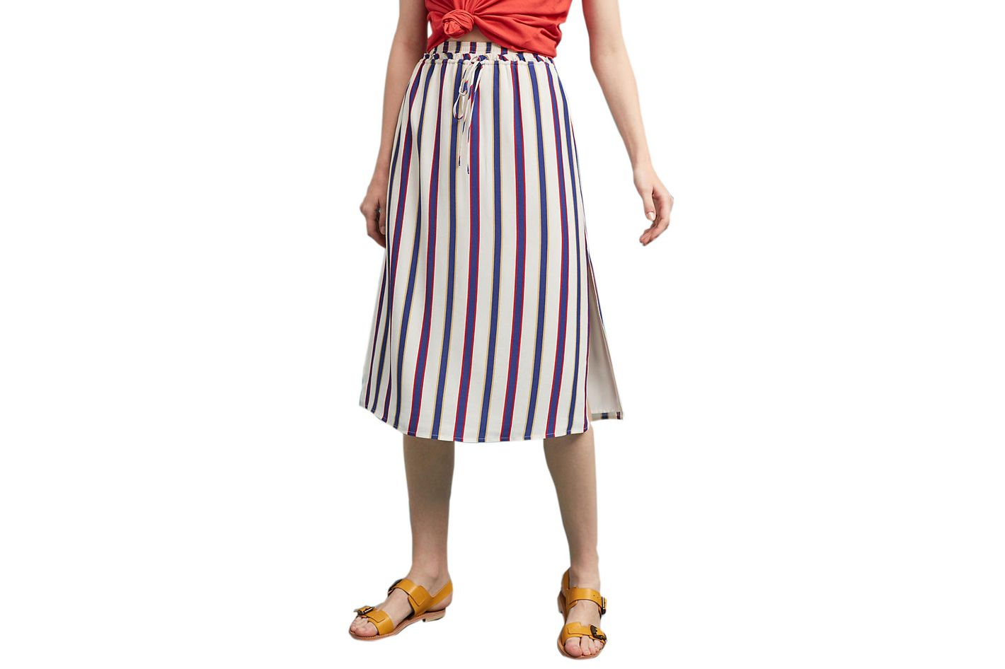 Privacy Please Arden Striped Skirt
