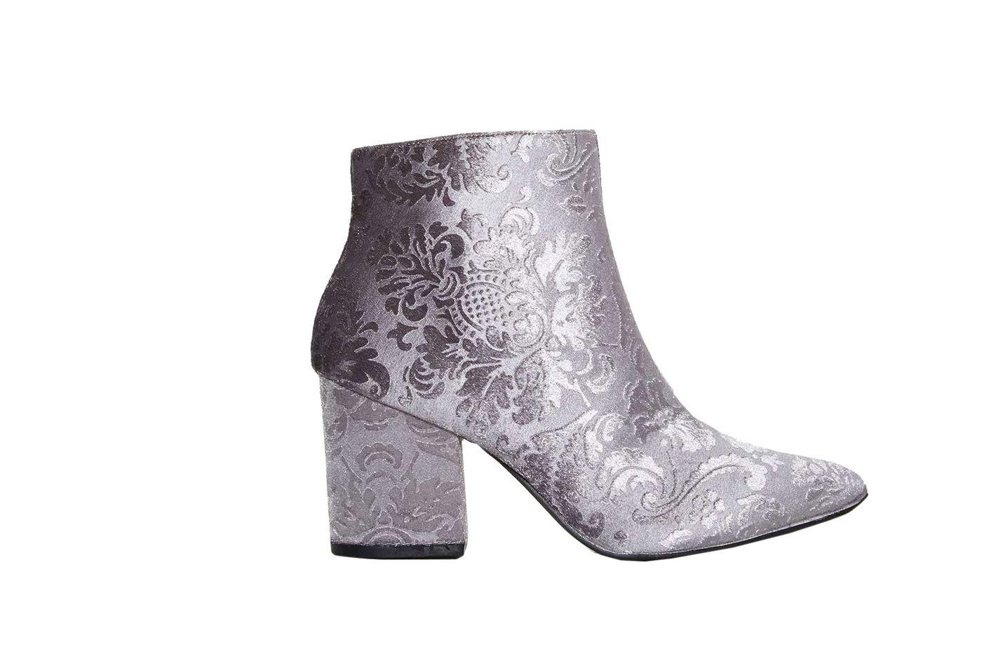 Rococo Velvet Boots
