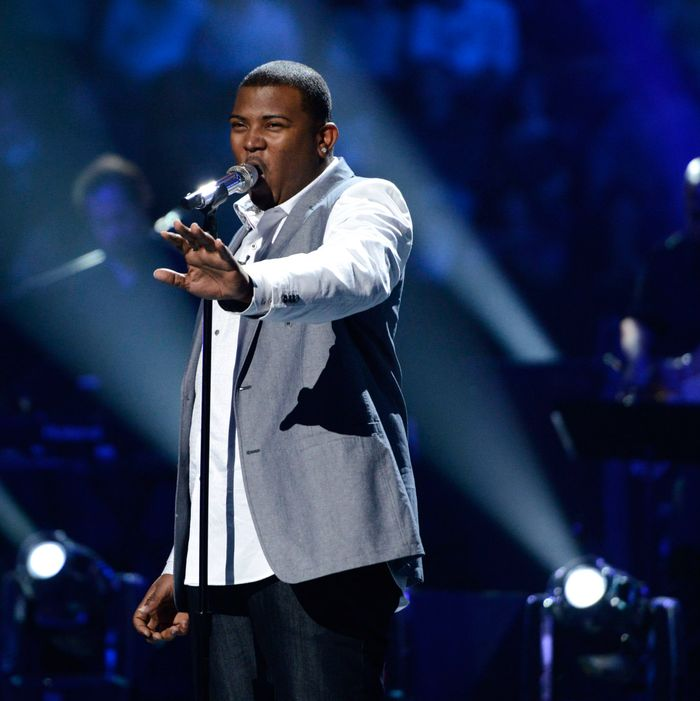 AMERICAN IDOL: Curtis Finch, Jr. performs in front of the judges on AMERICAN IDOL airing live Wednesday, March 6 (8:00-10:00PM ET/PT) on FOX.