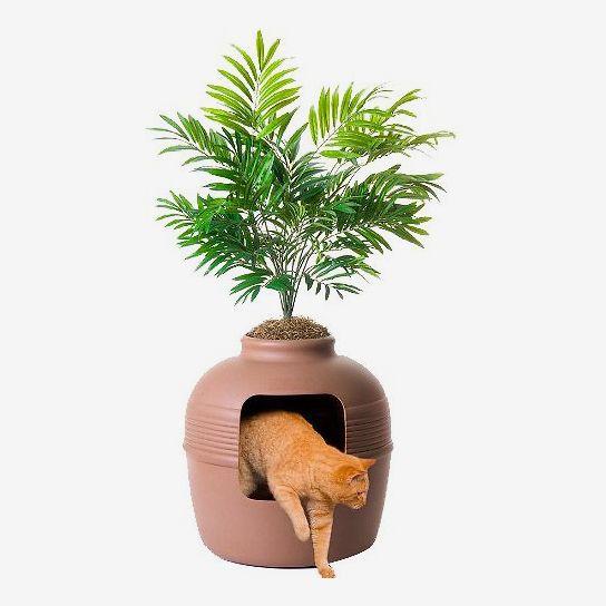 Jardinera oculta para michus Good Pet Stuff