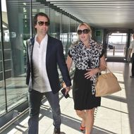 A pregnant Kate Winslet and husband Ned RockNRoll depart Heathrow Airport for Toronto. <P> Pictured: Ned Rocknroll and Kate Winslet <P><B>Ref: SPL605917 050913 </B><BR/> Picture by: Splash News<BR/> </P><P> <B>Splash News and Pictures</B><BR/> Los Angeles:310-821-2666<BR/> New York:212-619-2666<BR/> London:870-934-2666<BR/> photodesk@splashnews.com<BR/> </P>