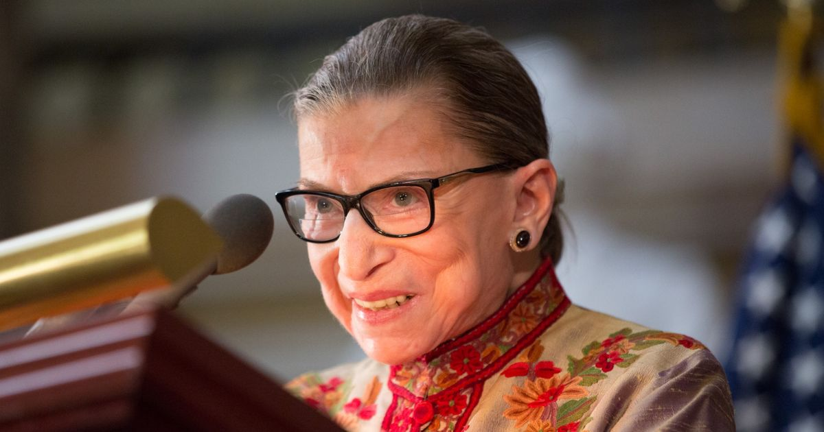Ruth Bader Ginsburg Stopped by Broadway's What the Constitution Means to Me