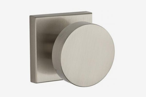 Baldwin Contemporary Privacy Doorknob With Square Rose