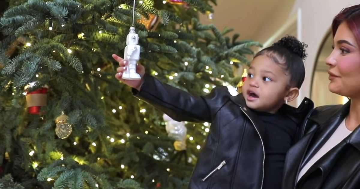 Here, Baby Stormi Got You Her Impression of a Robot for Christmas