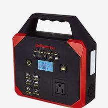 GoPower Plus Emergency Portable Power Station 45000 mAh with Emergency Weather-band Radio