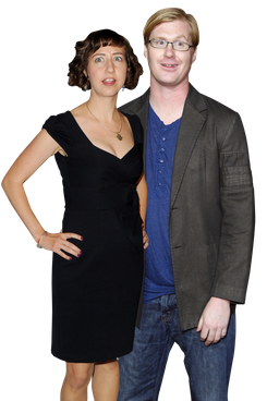 Kristen Schaal and Kurt Braunohler