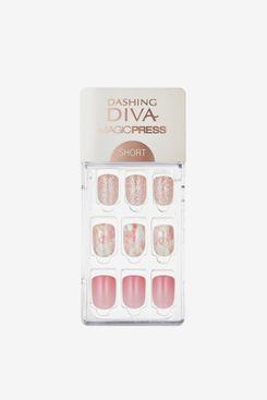 Dashing Diva Magic Press Sunset Breeze Press On Gel Nails