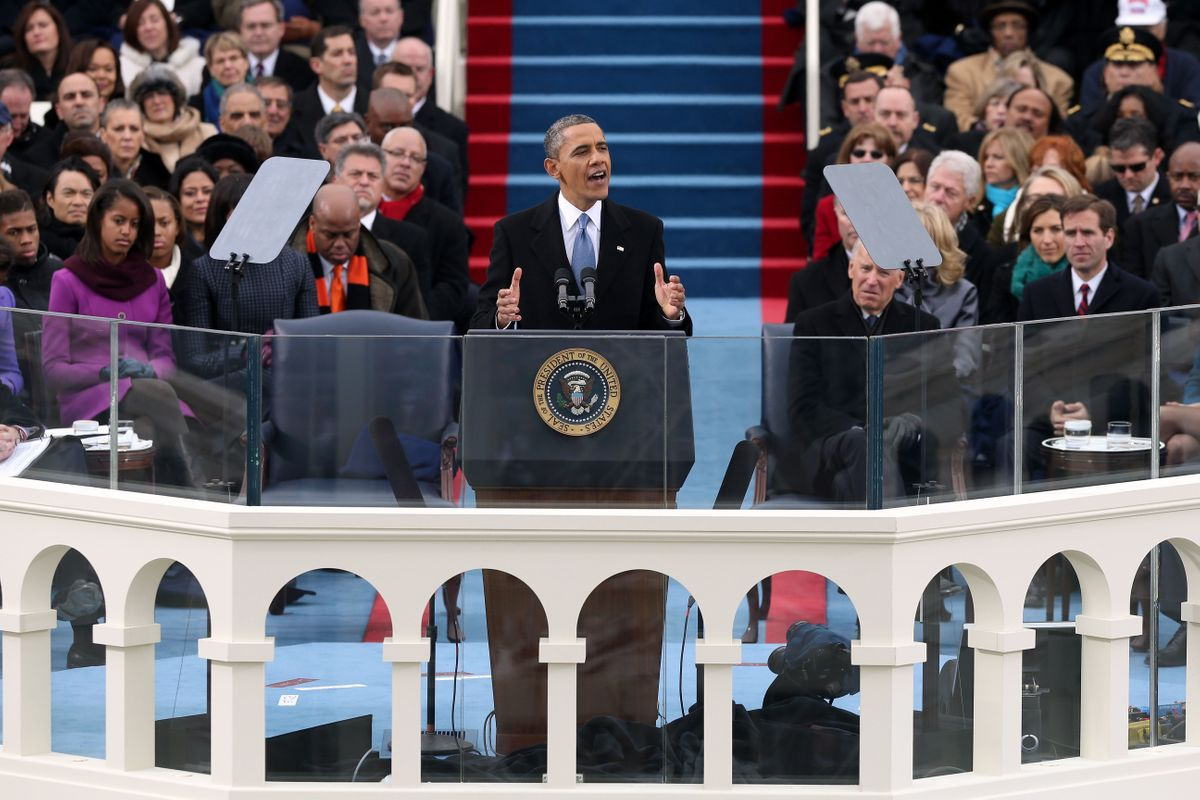 President Barack Obama's first inauguration speech: Full text