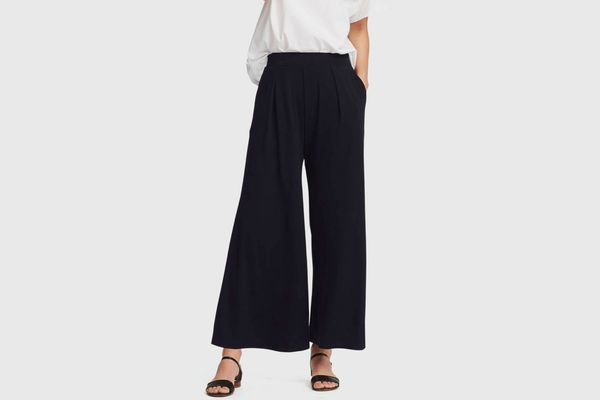 Uniqlo Women's Jersey Flare Pants
