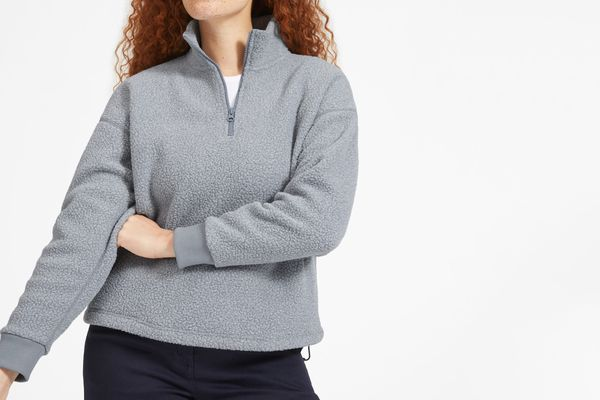 Everlane ReNew Fleece Half-Zip