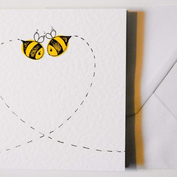 Bees Valentine's Day Card