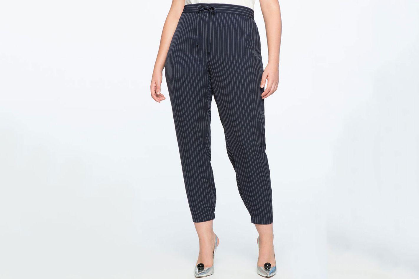 Eloquii Pinstripe Trouser