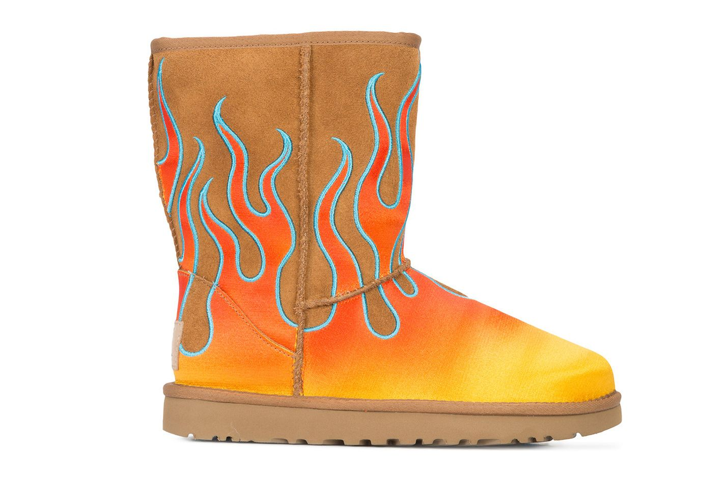 UGG x Jeremy Scott Flame Boots