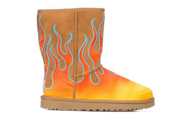 UGG x Jeremy Scott Flame Boots