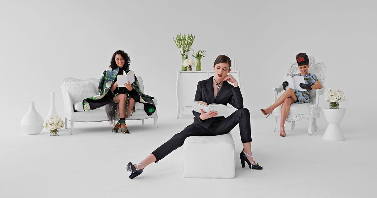 A Fashion Improvisation With the Stylish Minds of Three Busy Debras