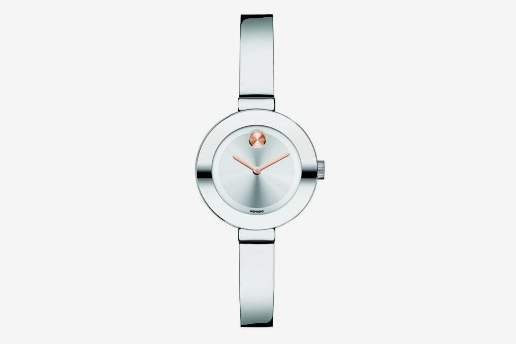Movado Bold Stainless Steel Bangle Bracelet Watch/25MM