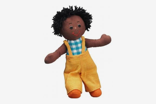 Short dark haired doll (dark skin)