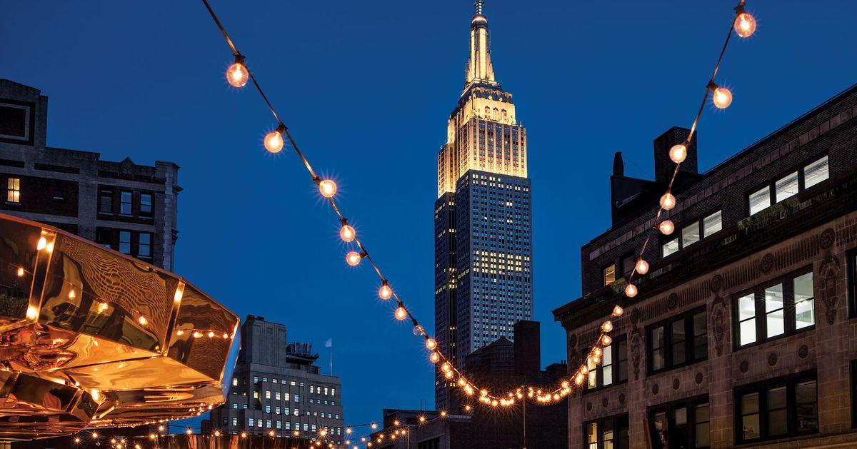 15 New Outdoor Wedding Reception Venues in NYC