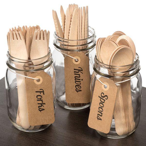 Modetro Premium Disposable BPA-Free Cutlery Set