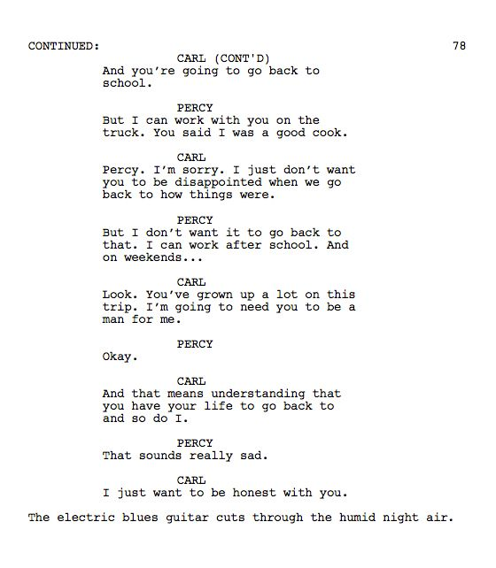The Toughest Scene I Wrote Chef Go Into The Story