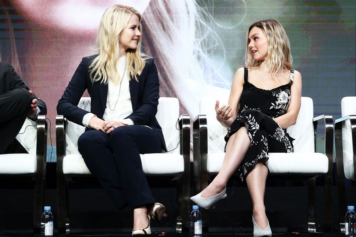 Elizabeth Smart and actress Alana Boden, who plays Smart in the Lifetime movie.