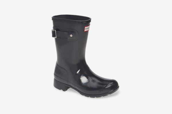 Hunter Original Tour Short Gloss Rain Boot