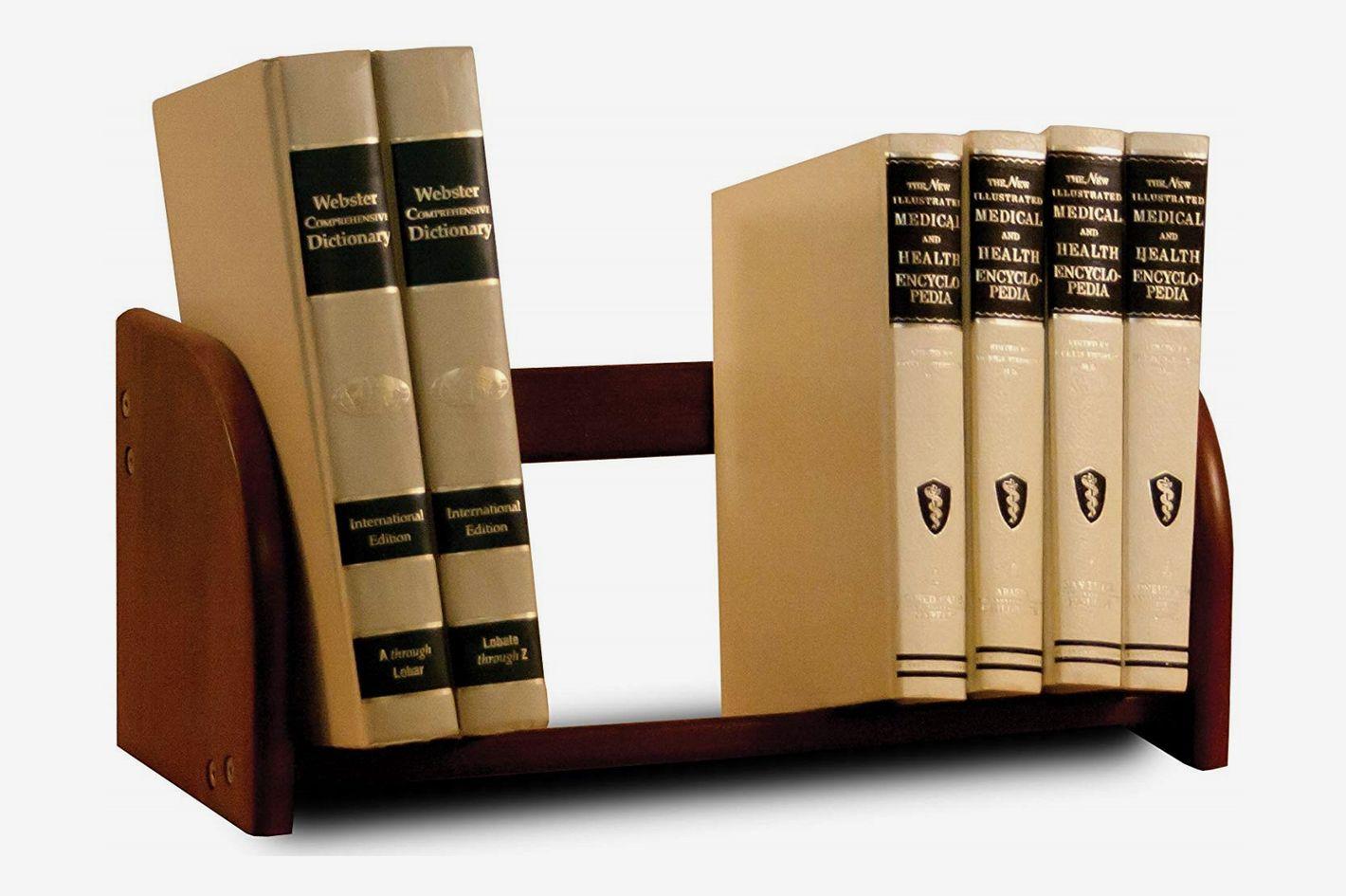 Catskill Craftsmen Tabletop Book Rack, Walnut Stain