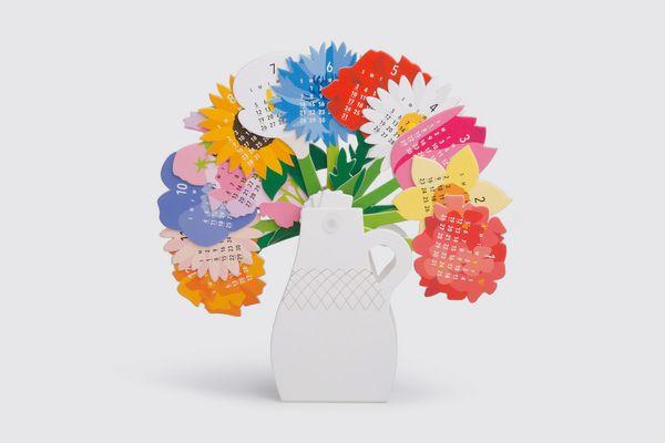 Good Morning Inc. 'Flowers' 2020 Calendar