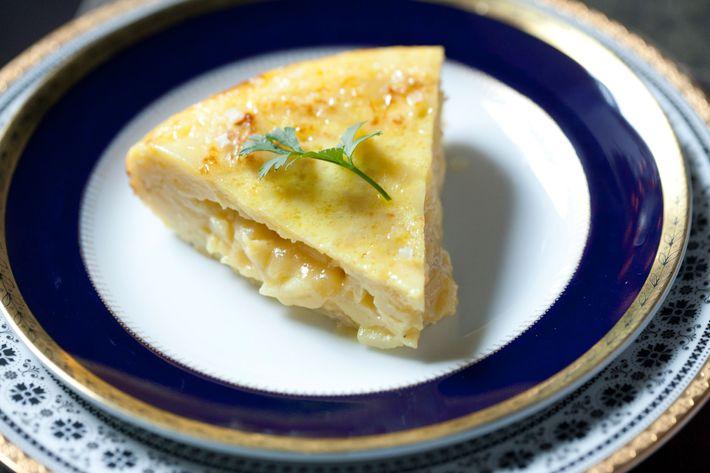 A Spanish tortilla.