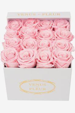 Venus ET Fleur Classic Small Square Rose Box