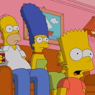 """THE SIMPSONS: The town of Springfield is shocked when Krusty announces his plans to retire from show business in the all-new  """"Clown in the Dumps"""" milestone season 26 premiere episode of THE SIMPSONS airing Sunday, Sept. 28 (8:00-8:30 PM ET/PT) on FOX.  THE SIMPSONS ™and © 2014 TCFFC ALL RIGHTS RESERVED."""