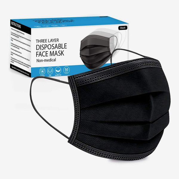 Disposable 3-Layer Protective Face Masks