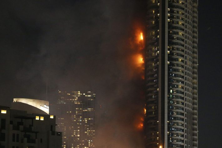 UAE-DUBAI-FIRE