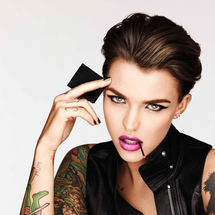 Ruby Rose, the new face of Urban Decay.