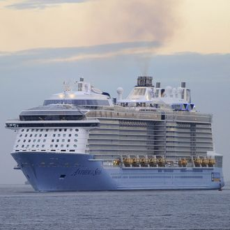 SPAIN-TOURISM-SHIP-CRUISE