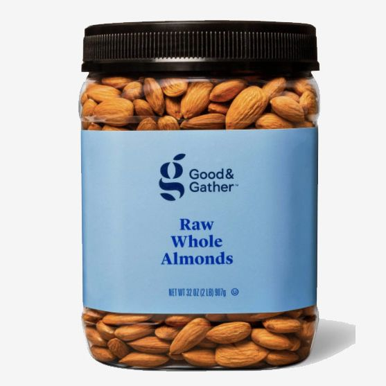 Good & Gather Raw Whole Almonds, 32oz