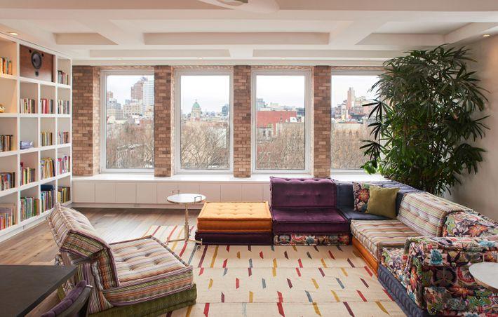 A Prewar Apartment Gets An All Out Modern Renovation