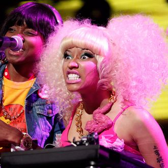 Billboard Awards arrivals at the MGM in Las Vegas, NV.<P>Pictured: Nicki Minaj<P><B>Ref: SPL280082 220511 </B><BR/>Picture by: Veronica Summers / Splash News<BR/></P><P><B>Splash News and Pictures</B><BR/>Los Angeles:310-821-2666<BR/>New York:212-619-2666<BR/>London:870-934-2666<BR/>photodesk@splashnews.com<BR/></P>