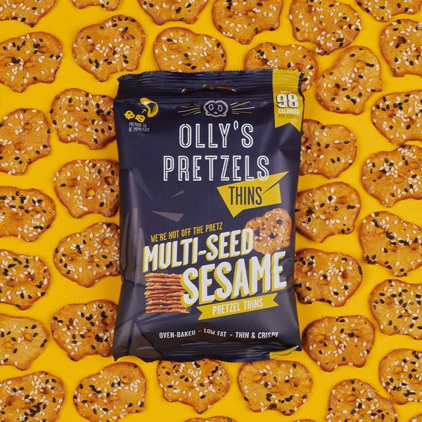 Olly's Pretzel Thins: Multi-seed Sesame