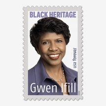 Gwen Ifill Stamp, Sheet of 20