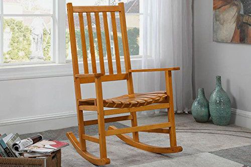 Coaster Home Furnishings Traditional Wood Rocking Chair
