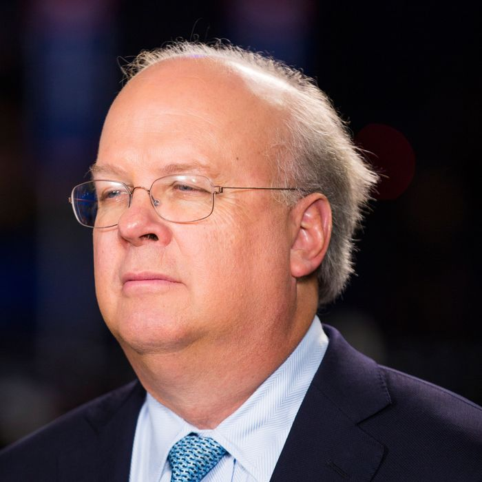 28 Aug 2012, Tampa, Florida, USA --- Republican strategist and fundraiser Karl Rove at the Republican National Convention in Tampa, Fla. Rove runs the powerful Super PAC American Crossroads --- Image by ? Brooks Kraft/Corbis