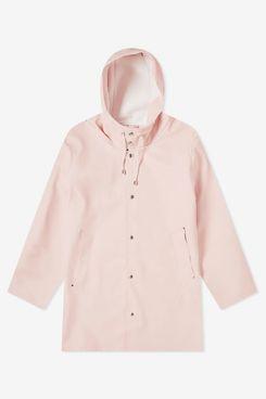 Stutterheim Stockholm Raincoat (Pale Pink)