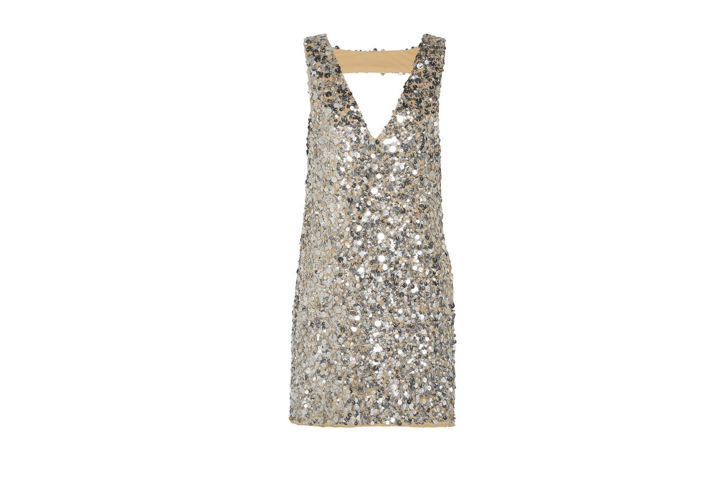 W118 by Walter Baker Carley sequined gauze mini dress