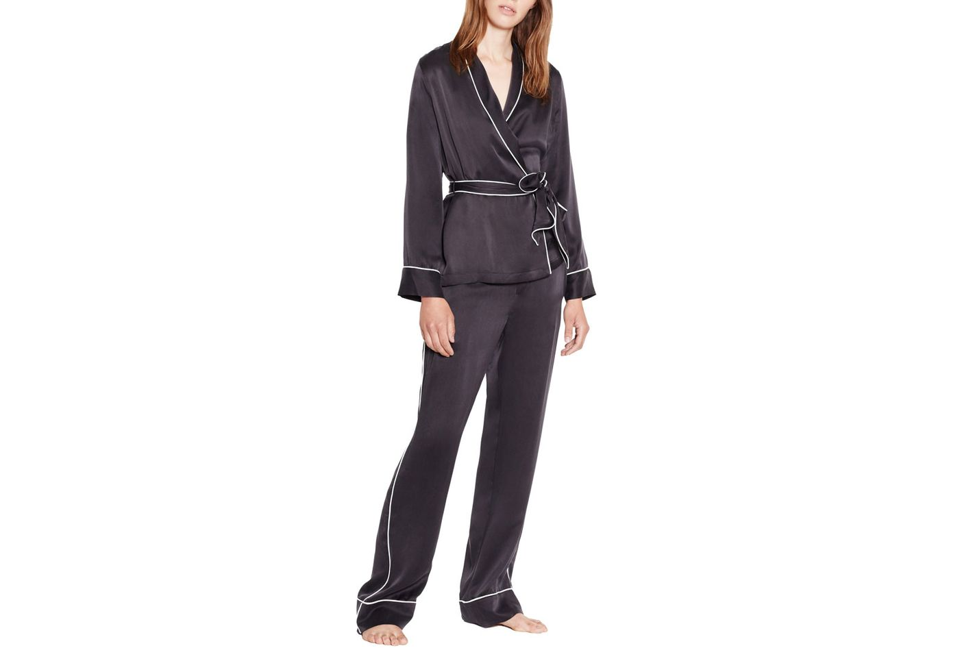 Equipment 'Odette' Satin Pajama Set